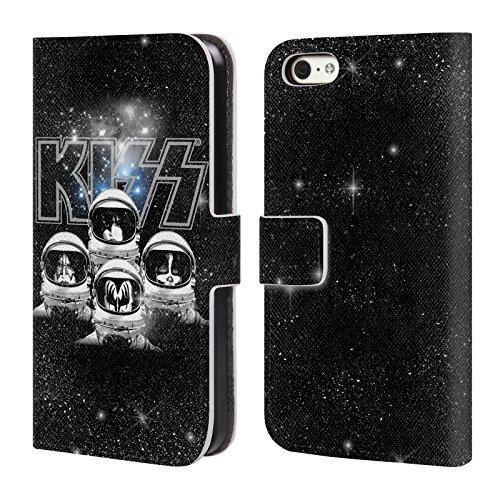 Ufficiale KISS Destroyer Giappone Gruppo Cover a portafoglio in pelle per Apple iPhone 7 Plus / 8 Plus Galattico