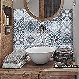 alwayspon Floor Wall Tile Transfers Sticker for Home Decor, Peel & stick self-adhesive