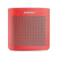 Bose SoundLink Color Bluetooth Speaker II (Coral Red)