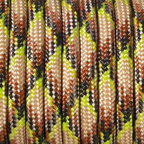 Paracord 4 mm x 50 m de couleur naturelle