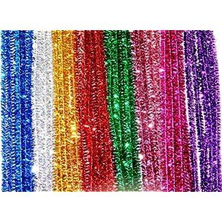 250espumillón limpiapipas 30cm 8diferentes colores