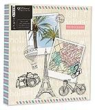 Anker-Reise/Urlaub Ziele/Memory Photo/Foto-Album mit Memo schreiben Bereich dekorativen Travel Design für vorne 1047x 12,7cm Foto