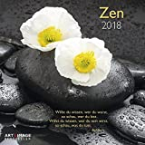 Zen 2018 - Meditationskalender, Entspannungs Kalender, Inspiration, Wandkalender - 30 x 30 cm - Art&Image