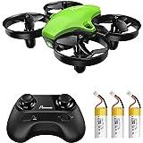 Potensic Mini Drone RC Helicopter Quadcopter para Niños y Principiantes con Control Remoto, Modo sin Cabeza, Altitude Hold, 3