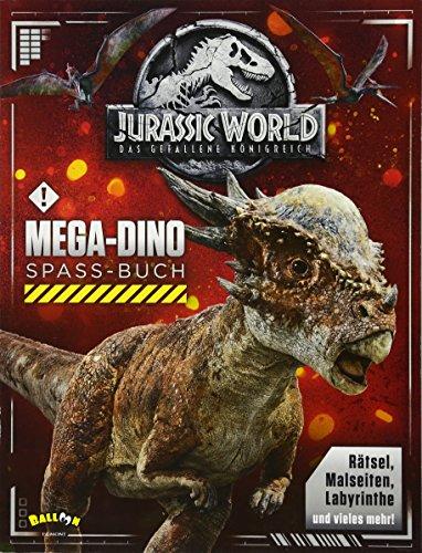 Preisvergleich Produktbild Jurassic World 2 - Das gefallene Königreich: Mega-Dino-Spaß-Buch