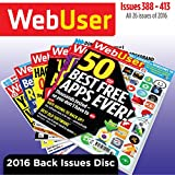 WebUser 2016 Back Issues Disc