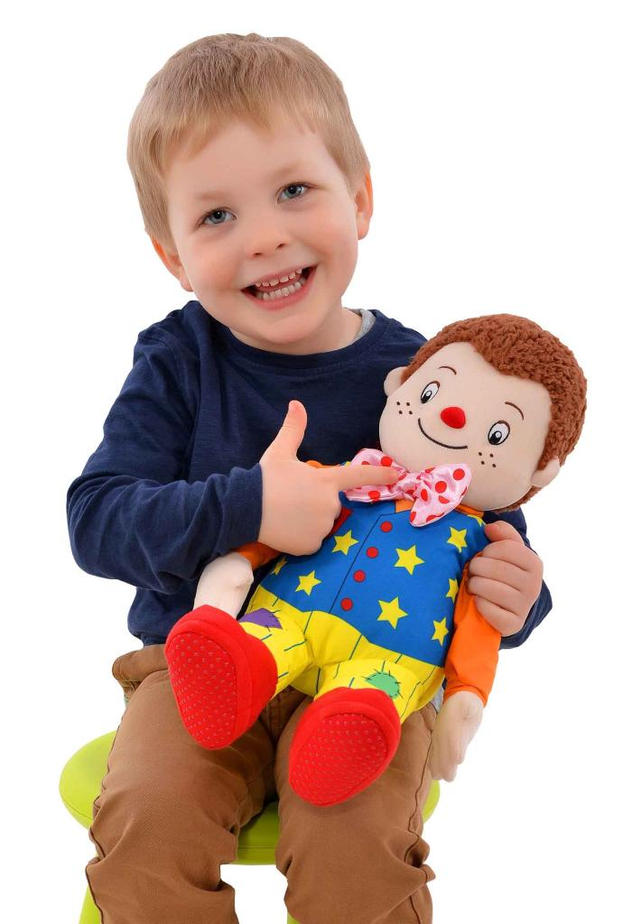 Head shoulders knees and toes mr tumble soft toy 38cm - Something special ...