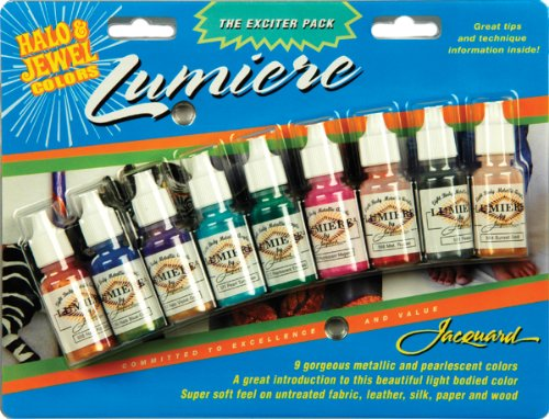 Jacquard Produkte Lumiere Exciter Pack, ca. 15 ml (9 Stück) -