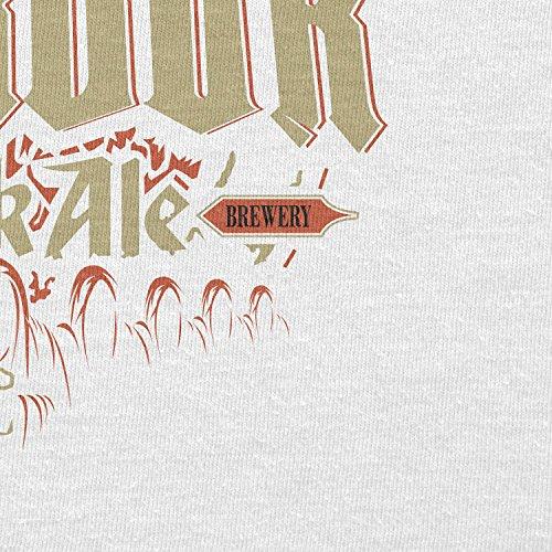 TEXLAB - One Beer to rule them All - Herren Langarm T-Shirt Weiß
