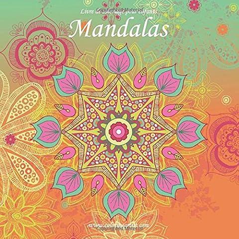 Livre de coloriage pour enfants Mandalas 1 & 2