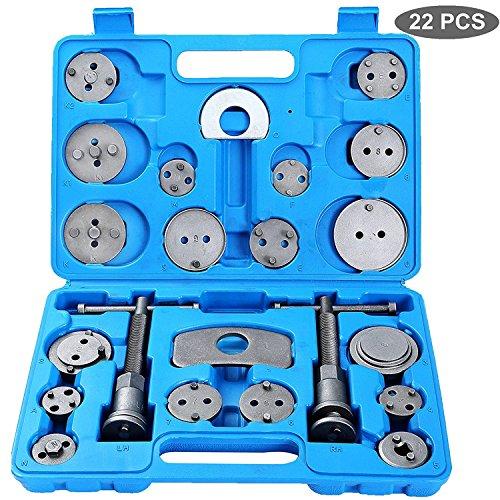 FreeTec 22 piezas Reposicionador de pistones de freno para reposicionar el pistón de freno al cambiar los discos