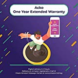 Acko 1 Year Extended Warranty for Washing Machine, Refrigerator, Dishwasher & Camera from Rs-10,000 to Rs-20,000 For B2B