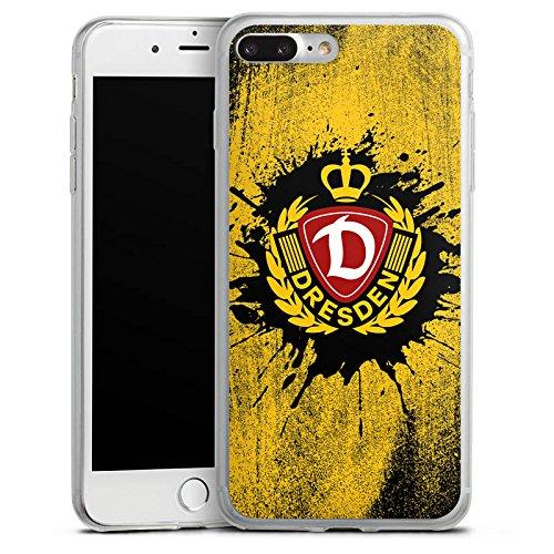 Apple iPhone 8 Slim Case Silikon Hülle Schutzhülle SG Dynamo Dresden Fanartikel Fußball Silikon Slim Case transparent