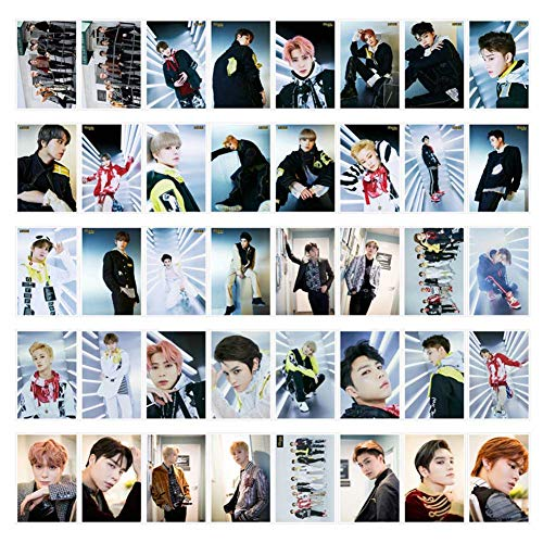 Fat Bear Kpop NCT 2019 NCT127 Neu WE Are Superhuman 40 Blatt NCT127 Mini 4 Series WIR SIND Superhuman Peripheral LOMO Card - NCT Fans Collection