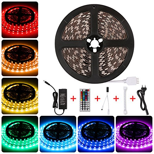 Tira led RGB 12V,Tiras led 300led IP20,Luces led Kit