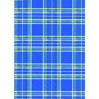 Decopatch Paper - 1 Sheet 602 Blue Tartan