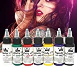 7 PCs permanente Augenbraue Lippenstift Microblading Pigmente Farben Tinte für Lippe Tattooing Ink Tattoo Maschine Tattoo Ink Material