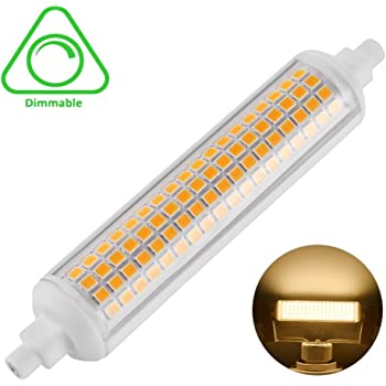 LEDGLE R7S LED 118mm Bombilla Regulable 10W, 100W Bombilla Halógena Equivalente, 950-1015LM