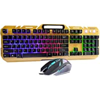 Aigo Combo of Multimedia USB Gaming Keyboard and Mouse