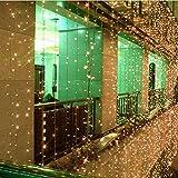 CORST® Warm White 2M x 2M 210 LED Party Christmas Xmas String Fairy Wedding Curtain Light UK Plug