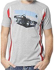 Ferrari Sebring Vintage GT Racing de automovilismo deportivo 1969 312p Spyder para hombre gris T-Shirt, hombre, gris