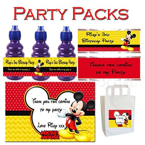Eternal Design personnalisé enfants fête d'anniversaire Packs Kbpp 17
