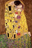 Empire Poster with Accessory Gustav Klimt The Kiss multicoloured
