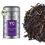 Yang Chai Bio Tee Earl Grey Blue hochwertiger Earl Grey lose Blätter Schwarzer Tee (1x90 g)