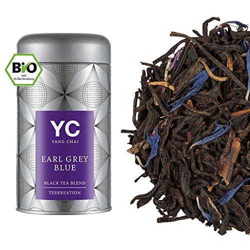 """Bio Tee"""" Earl Grey Blue"""" hochwertiger lose Blätter Schwarzer Tee loose leaf tea von Yang Chai"""