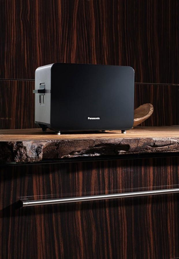 Panasonic NT-DP1BXC Toaster, 2 Slice, 850 Watt, Black: Amazon.co ...