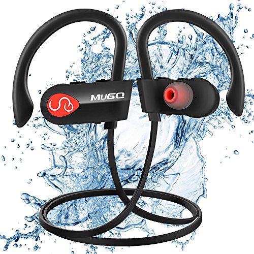 Auriculares deportivos Bluetooth, Mugo Ipx7 Impermeable Auriculares In