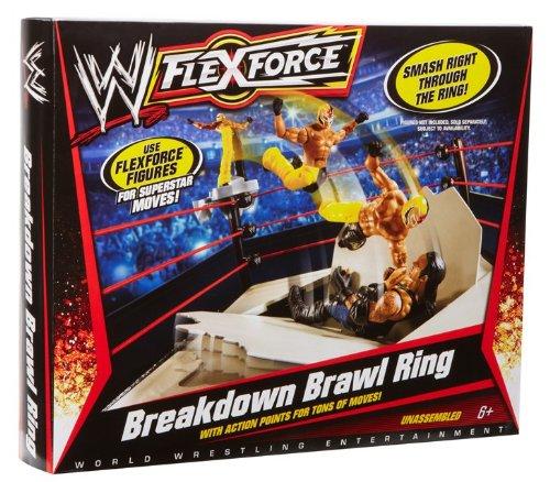 Mattel - R2856 - Figurine Accessoire - Ring de Combat Flexforce