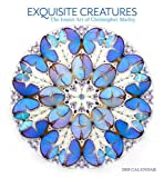 2018 Exquisite Creatures: The Insect Art of Christopher Marley WALL CALENDAR