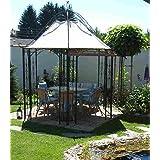 Gran cenador de jardín, pérgola, refugio redondo, Glorieta de ...