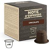 Note D'Espresso Cápsulas de chocolate - 40 Unidades de 7 g, Exclusivamente Compatible con cafeteras Nespresso*