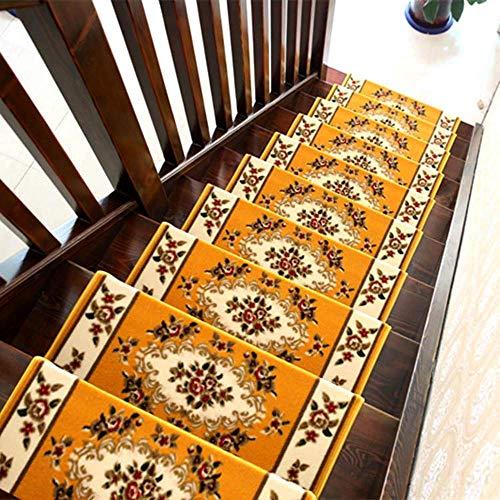 Ambiguity Treppenmatte, Indoor rechteckige Umweltschutz kleben kostenlose selbstansaugende Rotary Treppe für einen Rutschfesten Teppich 10 aus Einer Charge, 65 * 24 * 3