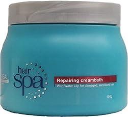 L'Oreal Paris Hair Spa Repairing Cream Bath for Damaged Hair, 490g