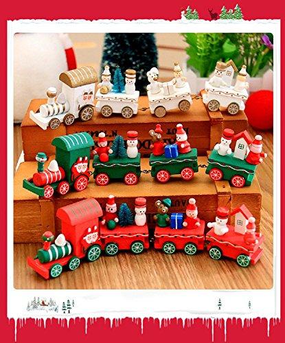 Xizi Mini Weihnachten Santa Zug Baum Dekor Kinder Spielzeug Geschenk für Weihnachten Festival Party