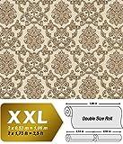 Barock Tapete EDEM 6001-91 Vliestapete geprägt mit Ornamenten glitzernd creme beige gold 10,65 m2