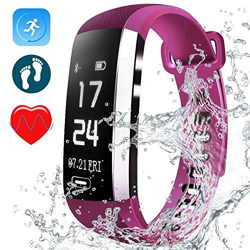Schrittzähler Sport Schrittzähler Armband Zähler Kalorien Schrittzähler Armbanduhr Wasserdicht Armband Herz Rate Monitor Für Lauf Um Eine Reibungslose üBertragung Zu GewäHrleisten Sport & Unterhaltung