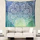 Yesiidor Bohemian Tapestry Wall Hanging Decor Art Home Decorations Psychedelic Intricate Floral Bedroom Living Room Dorm Hangings Tapestries Beach Throw Table Runner Cloth