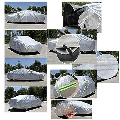 Alien Storehouse Luxgen U6SUV Sonnenschutz Wasserdicht Schnee Schutz Car Cover (Silber)