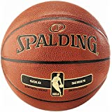 SPALDING - NBA GOLD IN/OUT SZ.7 (76-014Z) - Ballons de basket NBA - Touché et Contrôle améliorés - Matière Durable…