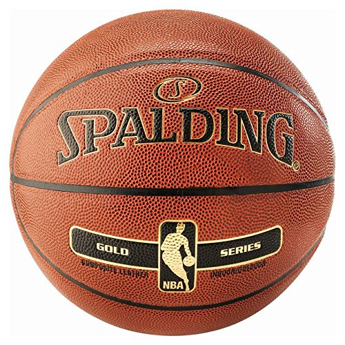 Spalding SZ.7 (76-107Z) Nba Gold In/Out Basketball Orange 7 (Nba-basketball-spiel)