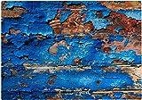 Cadouri Frühstücksbrettchen HOLZOPTIK Glasschneidebrett Schneidebrettchen - 28,5 x 20 x 0,4 cm