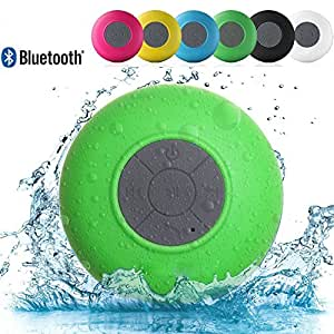 Link Plus Water Resistant Bluetooth Shower Speaker Assorted Color For Sony Xpeira Z5 Compact