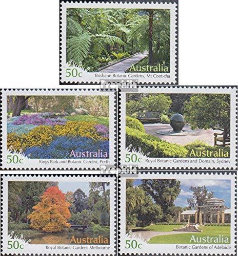Prophila Collection Australien 2875-2879 (kompl.Ausg.) 2007 Gärten (Briefmarken für Sammler) Landschaften -