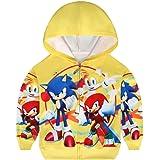Sudadera con capucha para niños con cremallera para niños y niñas, de manga larga