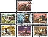 Ungarn 3411A-3417A (kompl.Ausg.) 1980 Die sieben Weltwunder (Briefmarken für Sammler)
