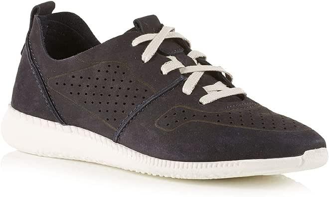 Walbusch Damen Sport Sneaker Superleicht einfarbig Marine 42